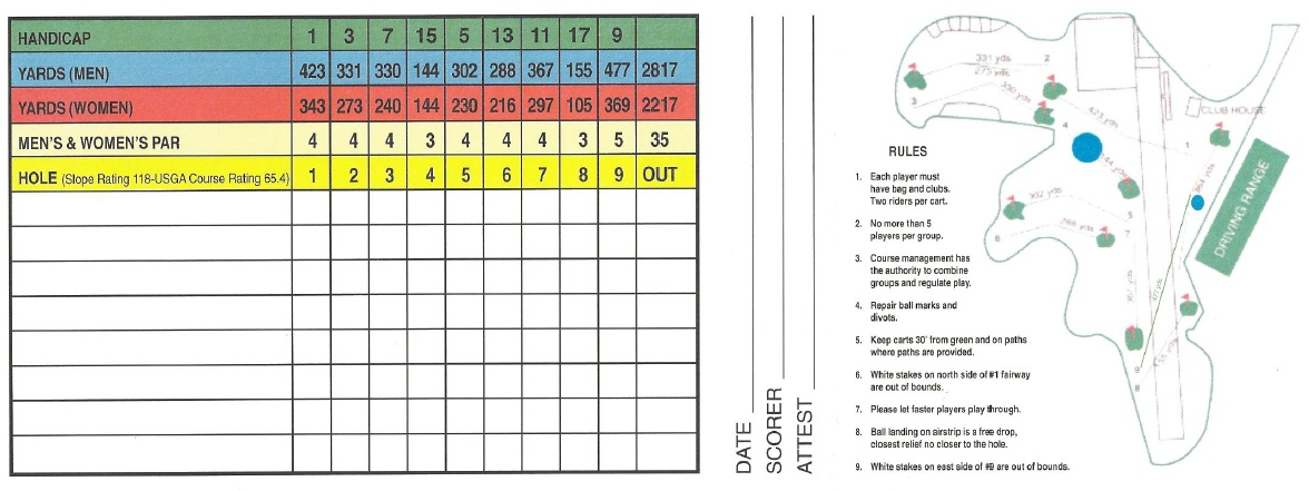 ozarks golf scorecard